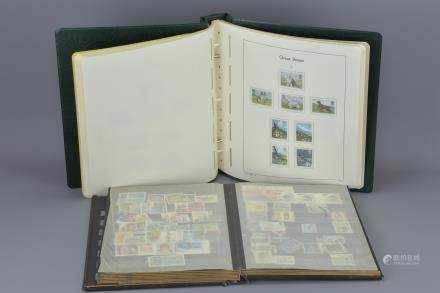 Leuchtturm Album of Great Britain Stamps (complete from 1971 to 1981) together with a Stock book of mainly used Stamps