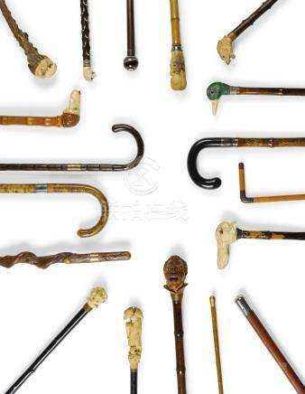 Guy OswaldSmith's Cane Collection, late 19th-early 20th century