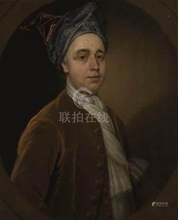Circle of Charles Jervas PORTRAIT OF A GENTLEMAN, TRADITIONALLY IDENTIFIED AS ARTHUR VANSITTART