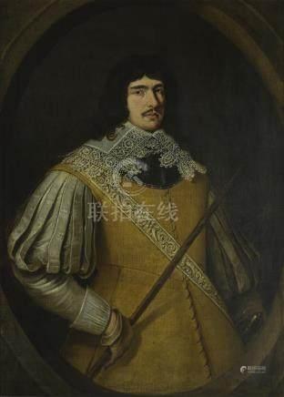Follower of Gerrit van Honthorst PORTRAIT OFA GENTLEMAN, TRADITIONALLYIDENTIFIED AS PRINCE RUPERT
