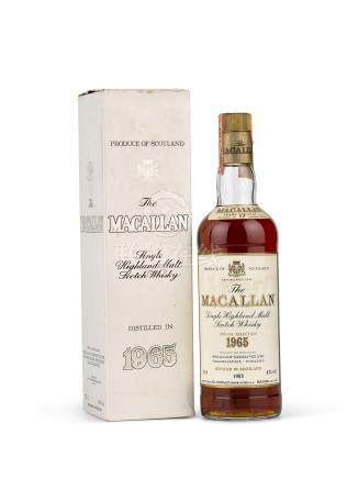 The Macallan 17 Year Old Highland Single Malt 1965 (1 BT)