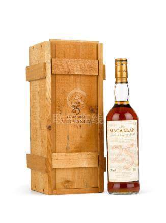 The Macallan 25 Year Old Anniversary Malt 1965 (1 BT70)