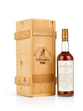 The Macallan 25 Year Old Anniversary Malt 1970 (1 BT)