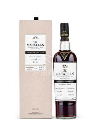 The Macallan Exceptional Single Cask - 2017/ESH-5326/06 1995 (1 BT70)
