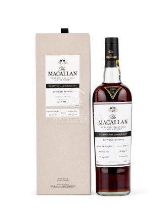The Macallan Exceptional Single Cask - 2017/ESB-2339/05 2002 (1 BT70)