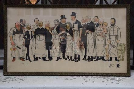 Adrien BARRERE (1877-1931). Jury, Médecins,…