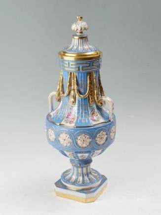 EARLY SEVRES PORCELAIN VASE