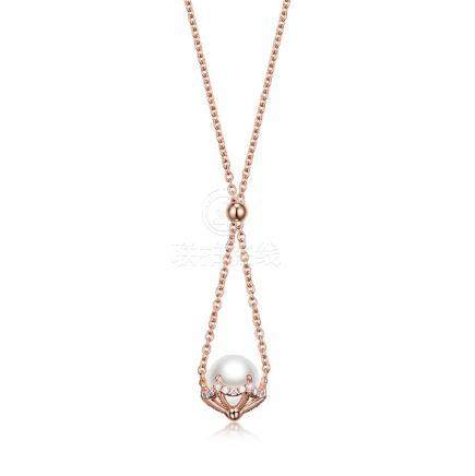 Gold, Pearls & Diamonds Necklace