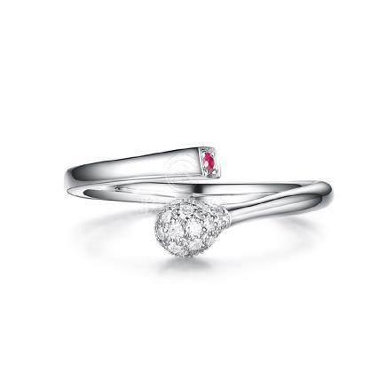 Gold, Ruby & Diamonds Ring