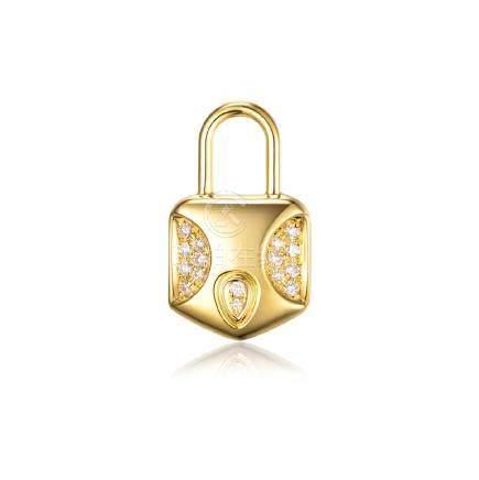 Gold & Diamonds Pendant