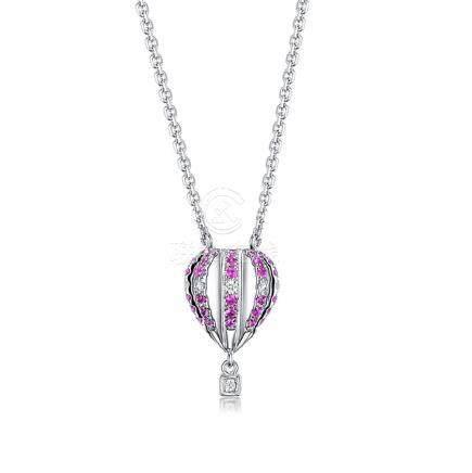 Gold, Sapphires & Diamonds Necklace