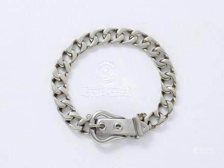 HERMES  Bracelet articulé en or 750 millièmes…
