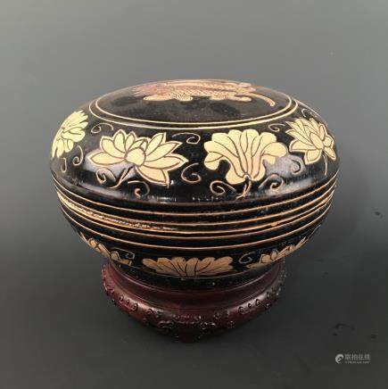 Chinese Celdon Glazed 'Flower' Bowl