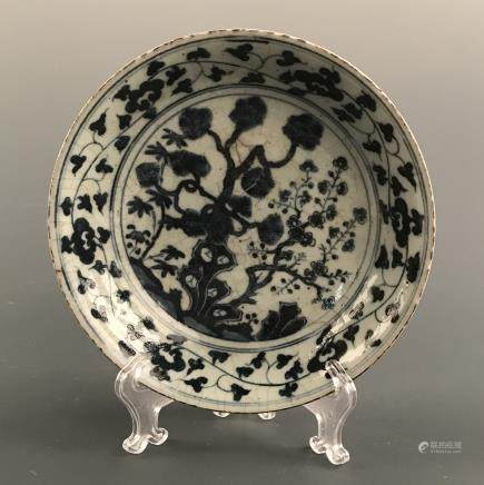 Chinese Blue-White Plate
