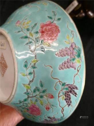 Guangxu Guan Kiln Turquoise Bowl