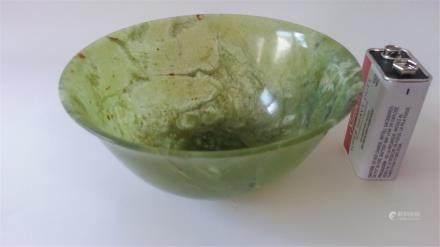 genuine jade bowl