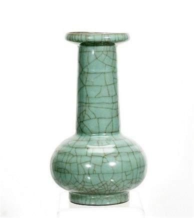 Celadon-Style Mallet Vase