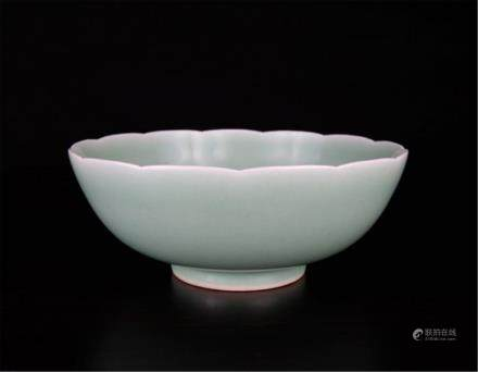 Chinese porcelain lotus bowl
