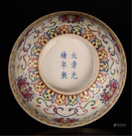 Chinese Famille Rose Porcelain Bowls