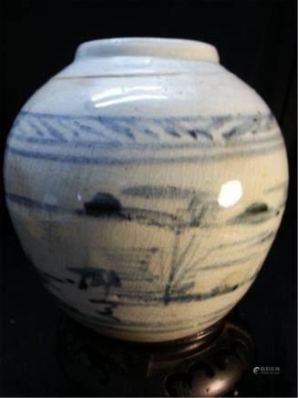 Antique Porcelain JAR