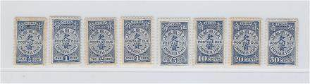 china qing stamps