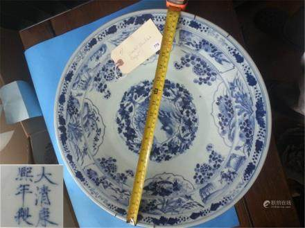 BIG Antique Chinese Porcelain dish