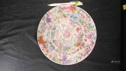 Liu Yuchen, porcelain plate painting