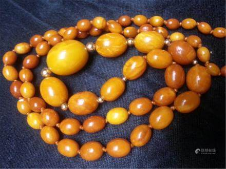 NATURAL BUTTERSCOTCH AMBER NECKLACE