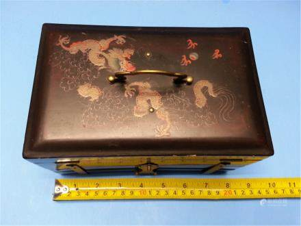 antique Lacquer Box fuzhuo