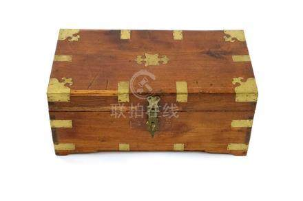 An old Indian work box