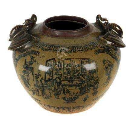 A 20th century Ming style vase