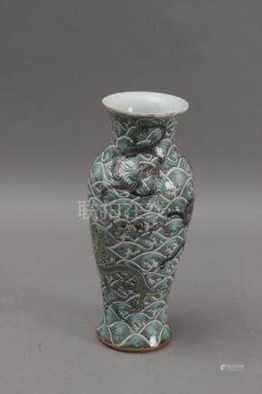 An early 20th century Chinese porcelain vase