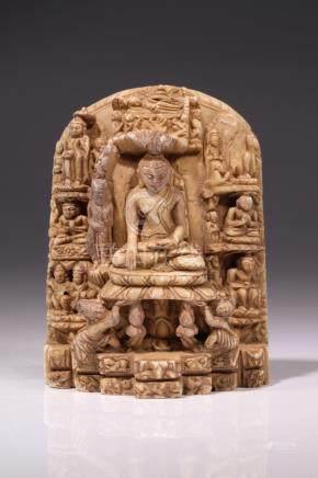 IMPORTANT BUDDHA PAGAN STEELE