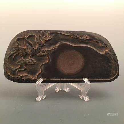 Chinese 'Phoenix' Ink Stone