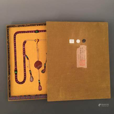 Chinese Court Beads Neckalace