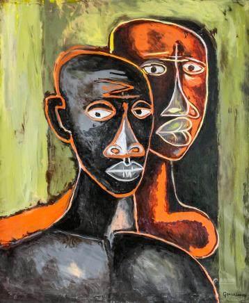 Oswaldo Guayasamin Ecuadorian Expressionist OOC