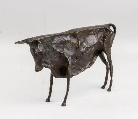 Pablo Picasso Spanish Cubist Bronze Sculpture Cow