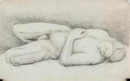 Pavel Tchelitchew Russian Surrealist Pencil Paper