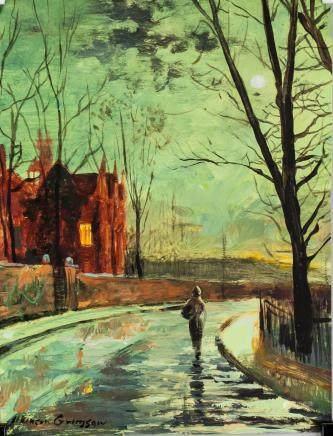 John Atkinson Grimshaw UK Impressionist Mixed