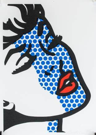 Roy Lichtenstein American Pop Signed Litho 22/100