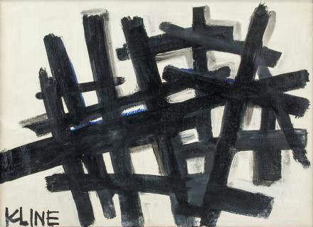 Franz Kline American New York Abstract OOC