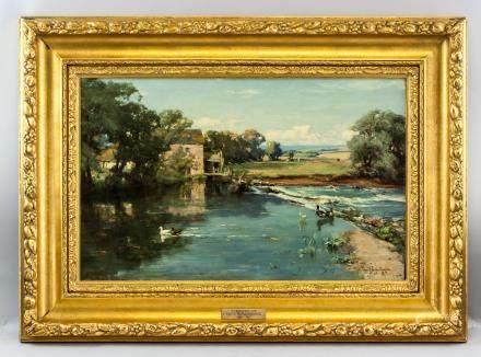 David Farquharson Scottish Oil on Canvas Landscape