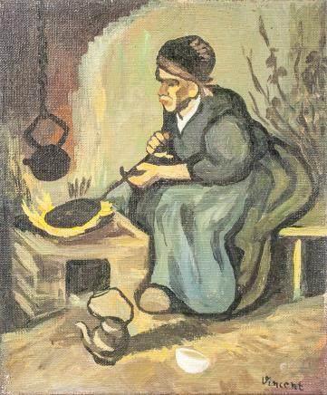 Post-Impressionist OOC signed Vincent