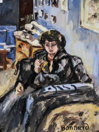 Pierre Bonnard French Post-Impressionist Tempera