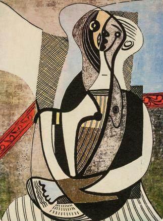 Pablo Picasso Spanish Signed Linocut 49/100