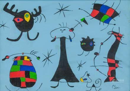 Joan Miro Spanish Surrealist OOC Surrealism