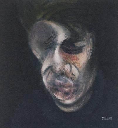 Francis Bacon British Cubist Signed Litho 90/100