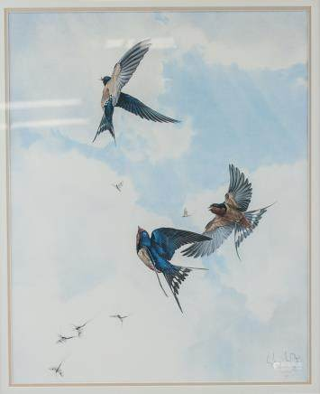 Glen Loates Canadian Signed Lithograph 88/500