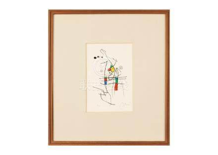 Joan Miró (胡安・米羅) Miranda La Spirale