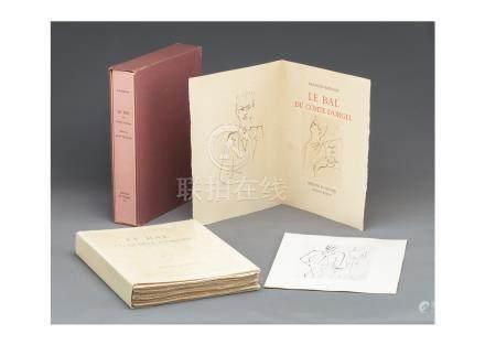Jean Cocteau(尚・考克多)Le BAL du Comte D'orgel (歐傑爾伯爵的舞會) 全34圖